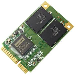 DRPS-32GJ30AC3QB Карта флеш-памяти бескорпусная 32Гб Innodisk mSATA D150Q, SATA2, SLC, температурный диапазон 0..+70 C