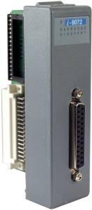 I-8072-G Низкопрофильный модуль для установки 2 модулей Flash или SRAM памяти, 1 параллельный порт, параллельная шина