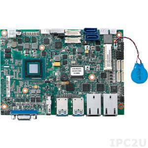 "EBC-355-3826 Процессорная плата формата 3.5"", Intel Atom E3826, до 8Гб DDR3, HDMI, VGA, LVDS 24/48, 2xGbE LAN, 2xSATA 2.0, 4xCOM, 4xUSB, GPIO, Audio, 2xMini-PCIe, +12В DC, без комплекта кабелей"