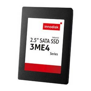 """DES25-08GM41BW1SC Твердотельный накопитель 8Гб Innodisk 3ME4 SATA III 2.5"""" SSD, MLC, чтение/запись 140/25 Мбит/с, температурный диапазон -40...+85 C"""