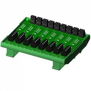 SCMPB07-1 Плата клеммников для установки 8 модулей серии SCM5B, без цепей компенсатора холодного спая, компактное исполнение