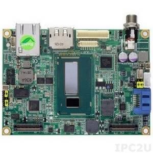 PICO880PGA-Celeron 2980U Процессорная плата PICO880 с процессором Intel Celeron 2980U 1.6ГГц, до 8Гб DDR3, DP/LVDS, LAN, USB, audio, кулер, радиатор, кабели