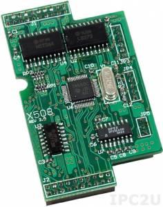 X508 Модуль 1xRS-232, 4 DI,4 DO, для I-7188XB/EX