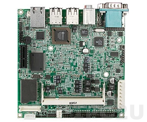 NANO-8044-1100 Процессорная плата Nano-ITX Intel Atom Z510 1.1ГГц с VGA, LVDS, Gb LAN, CF, 1xSD, 1xIDE, 6xUSB, Audio, 1xPCI-Ex1