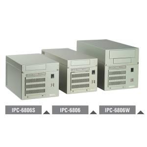 """IPC-6806-25DE Монтируемый на стену полноразмерный корпус, 6 слотов, без объединительной платы, отсеки 2x3.5"""", источник питания 250Вт"""