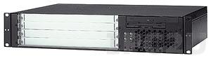"""cPCIS-6240R/SDVD 19"""" 2U CompactPCI корпус для 6U процессорной платы, 4-слотовая объединительная плата cBP-6104R 32-бит, Rear I/O, источник питания 300 Вт АТХ, Slim Type SATA DVD-ROM без FDD"""