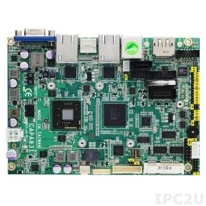 "CAPA830VHGGA-N2800-ZIO Процессорная плата формата 3.5"" с Intel Atom N2800 1.86ГГц, чипсет Intel NM10, DDR3, VGA/LVDS/HDMI, 2xLAN, 2xCOM, 6xUSB, Audio, ZIO модуль AX93262"
