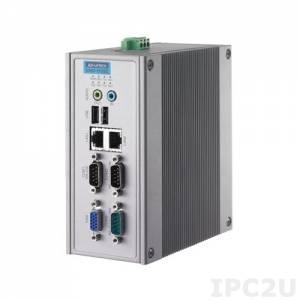 UNO-1150G-G30E Встраиваемый компьютер на DIN-рейку c AMD Geode LX800 500МГц, 256Мб RAM, VGA, 2xLAN, 3xCOM, Audio
