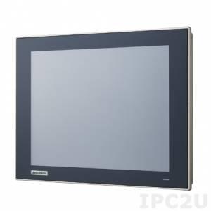 """TPC-1251T-E3AE Безвентиляторная панельная рабочая станция 12.1"""" TFT LCD LED, плоский резистивный сенсорный экран (IP66), Intel Atom E3827 1.75ГГц, 4Гб DDR3L, 1xCFast, 2xLAN, 2xCOM, 2xUSB, 1xMini PCIe, питание 24В DC"""