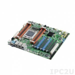 ASMB-822I-00A2E Серверная процессорная плата ATX, Intel Xeon E5 1600(v2),2600(v2), чипсет Intel С602J, до 96Гб DDR3, 1xVGA, 2xGb LAN, 4xSATAII, 2xSATAIII, 10xUSB 2.0, 4xUSB 3.0, 2xRS-232, 2xPS/2, 1xLPT, 5xPCIe x16, 1xPCIe x8, 1xPCI, IPMI, Audio, 12В DC