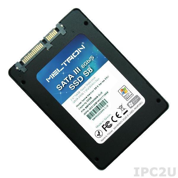 "S8PH480GBM-RU 2.5"" SSD Meltron, SATA 3, 480Гб, MLC, рабочий диапазон 0..70C"