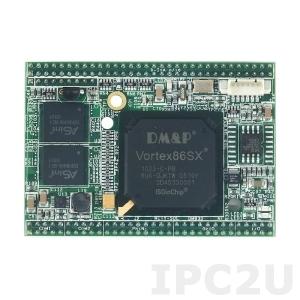 VSX-6119-A-V2 Процессорный модуль Mity-SoC Vortex86SX-300МГц с ОЗУ 128Мб DDR2, TTL, AMI BIOS, рабочая температура -20..70