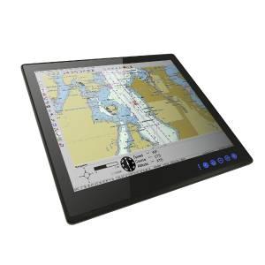 """R12L110-MRM6HB 12.1"""" TFT LCD промышленный монитор для морского использования, вход VGA, IP65 по передней панели"""