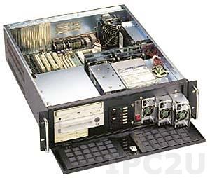 "GH-310ATXR 19"" корпус 3U, ATX, отсеки 2x5.25""/1x3.5"" FDD/5x3.5"" HDD, без источника питания"