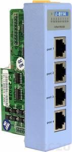 I-8114 Низкопрофильный коммуникационный 4-х канальный модуль RS-232