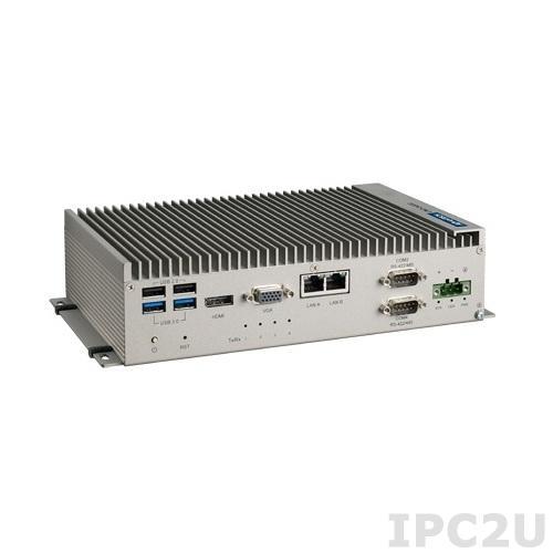 UNO-2483G-434AE Встрaиваемый компьютер с CPU Intel i3-4010U, 8Гб RAM, VGA, HDMI, 4xGB LAN, 4xCOM, 2xUSB 2.0, 2xUSB 3.0, 2x mPCIe, Audio, IP40, -20...60C