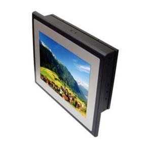"ST12255. 10.4"" TFT LCD Fanless Panel PC Slim Series, Touch Screen, 2I385CW-I22 Intel Atom E3825 1.33GHz CPU Board, 2GB DDR3L on-board, VGA, 2xGbit LAN, 4xCOM, 4xUSB, 1x2.5"" SATA Drive Bay, Audio, 9..36V DC-In"