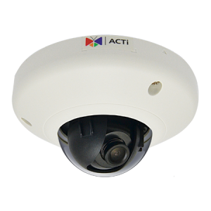 E918 3MP Outdoor Mini Dome with Superior WDR, Fixed lens, f1.9mm/F2.8, H.264, 1080p/30fps, DNR, Audio, MicroSDHC/MicroSDXC, PoE, IP68, IK10, EN50155