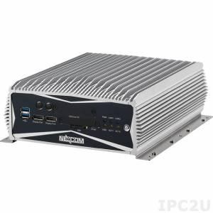 NISE-3600E-500G-i3-4G-REMW7OPC Встраиваемый компьютер с Intel Core i3-3120ME, 4Гб DDR3, 2xDisplay Port, DVI-D, VGA, 2xLAN, 4xCOM, 500Гб HDD, Real Time Ethernet, 9-30В DC, Windows Embedded Standard 7, OPC сервер