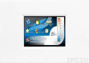 """TPD-283U-M1 Панель HMI высокоскоростная, сенсорный экран 2.8"""", Ethernet (10/100 Мбит/с), RS-485, RTC, PoE, декоративная панель, цвет белый"""
