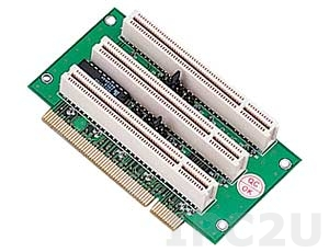 GHP-R0301 Объединительная Riser плата 3xPCI слота, 32бит, для корпусов 2U, 3/5.5/12В