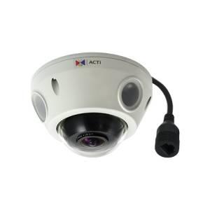 E929 3 МП уличная компактная купольная IP-камера, рыбий глаз f1.19мм/F2.0, H.264, (2048 x 1536)/20 кадр/сек, день/ночь, адапт. ИК подсветка, WDR, 2D+3D DNR, Аудио, Micro SDHC/SDXC, PoE, NEMA 4X, IP68, IK10, EN50155, -20C...+50C