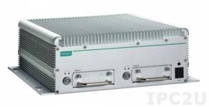 V2616A-C5 Встраиваемый компьютер для транспорта: процессор с Intel Core i5-3610ME 2.7 ГГц, VGA, DVI, 2 LAN порта, 2 последовательных порта, 6 DI, 2 DO, 3 порта USB 2.0, питание 24...110 VDC, -25...+55С