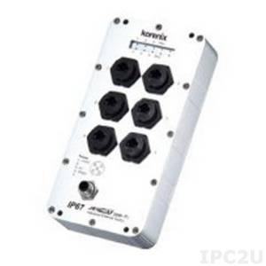 JetNet-3006f-m Индустриальный коммутатор с 8 портами 10/100 Base-TX Ethernet