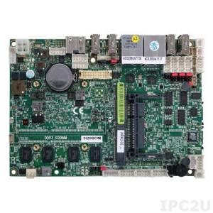 "3I280CM-HRH2-00 Процессорная плата фомата 3.5"" Intel Atom N2800 1.86 ГГц, установлено 2Гб DDR3, HDMI, LVDS, 6xCOM, 2xGbE LAN, 9xUSB, Touch Screen, 6..36В DC"