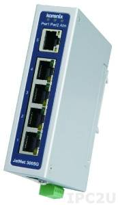 JetNet 3005G v2 Korenix Industrial Unmanaged 5x10/100/1000Base-TX Ethernet Switch