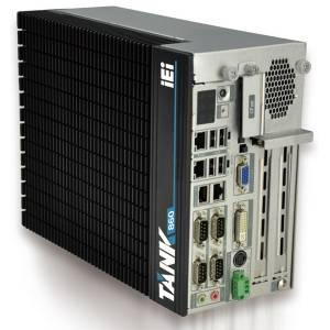 """TANK-860-QGW-i5/8G/4A Защищенный компьютер Intel Core i5-4400E 2.7Ггц, 2x4Гб DDR3 RAM, VGA/DVI-I/DisplayPort, 2xLAN, 4xCOM, 6xUSB, 2xPCIe x8 + 2xPCI, 2 отсека 2.5"""" SATA HDD, CFast, mSATA, Audio, -20...+60C"""