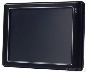 """PDX-057T-5U Панельная рабочая станция с 5.7"""" TFT LCD, резистивный сенсорный экран, Vortex86DX-1GHz процессор, 256Мб DDR2, LAN, 3xUSB, 1xRS232/422/485, CompactFlash, MicroSD, внешний адаптер питания 15Вт"""