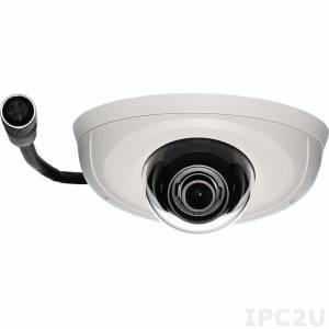NCm-201-2VM Камера 2MP@30fps, 1080@30fps, H.264/ M-JPEG, объектив 2.8мм F1.8, стабилизация изображения, 100дБ WDR, Micro SD слот, M12, IK10 защита от вандализма, степень защиты IP67, сертификат EN-50155, рабочая температура -40...60 C