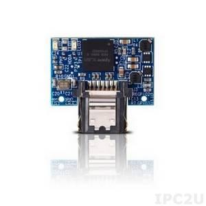 APSDM008GA5AN-PCW APACER SATA disk on module, 8ГБ, SLC, 7 контактов, рабочая температура -40..85 С