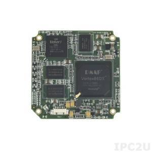 SOM304RD53VIDE1 Процессорный модуль SOM304 Vortex86DX 800МГц с ОЗУ 512Мб DDR2, VGA/LCD, 5xCOM, 4xUSB, LAN, 2xGPIO, PWMx24, 2Гб NAND Flash