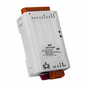 tPET-P2A2 Mодуль Ethernet, 2 канала дискретного ввода, 2 канала дискретного вывода PNP, PoE