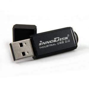 DEUA1-04GI72AW1SB Карта флеш-памяти USB, 4Гб, серия 2SE, SLC, рабочая температура -40..+85 C