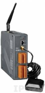 GD-4500P-2G PC-совместимый промышленный контроллер 80МГц c GPRS/GSM, 512кб Flash, 512кб SRAM, 2xRS232, 1xRS485, Ethernet, 8xAI, 3xDI, 3xDO, MiniOS7, GPS, пластиковый корпус