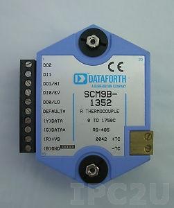 SCM9B-2521 Модуль ввода, напряжение возбуждения +10 В, вход -30...+30 мВ, RS-232C, протокол ASCII