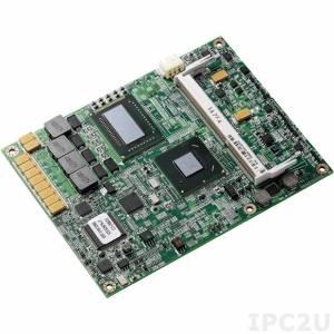 ICES-267S-i7 Процессорная плата COM express Type2 с Intel Core i7-2715QE / QM67, DDR3, VGA/LVDS, SDVO, IDE, 1xGigabit LAN, 8xUSB, HD Audio, 3xSATA, 1xPCI-Ex4, 2xPCI-Ex1, PCI, RoHS