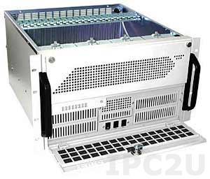 "GHI-691-SATA 19"" корпус 6U для накопителей, отсеки 1x5.25"" Slim/1x3.5"" Slim FDD/32x3.5"" Hot Swap SATA HDD, для дублированного источника питания"