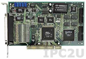 PCI-9111HR Плата ввода-вывода PCI, 16SE каналов AI 16 бит 100 Гц, 1 канал AO 12 бит, 16 каналов DI, 16 каналов DO, TTL