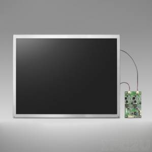 """IDK-2110N-K2SVA2E 10,4"""" LCD 800 x 600 Open Frame дисплей LED, 1200нит, LVDS"""