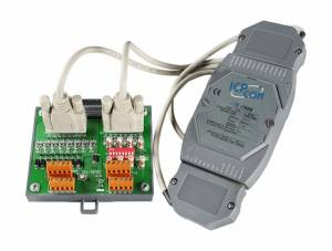 I-7088/S Модуль ввода - вывода, 8 каналов высокоскоростного счетчика/частотомера / 8 каналов ШИМ, ТТЛ, с дополнительной платой DN-8P8C-CA
