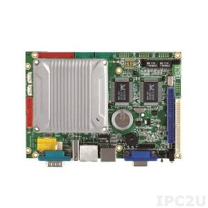 "VMXP-6426-4DS1 Процессорная плата 3.5"" Vortex86MX+ 800МГц с 1Гб DDR2 RAM, VGA/LCD/LVDS, 3xLAN, 3xCOM, 4xUSB, GPIO, AUDIO, CompactFlash Socket, PWMx16, 2Гб NAND Flash"