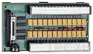 DIN-24R/12-01 Выносная плата 24 реле (12В) с перекидными контактами, совместима с Opto-22, разъем DB37, монтаж на DIN рейку