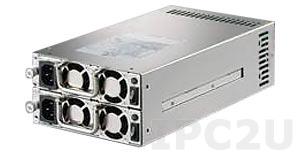 ZIPPY MRM-6600P Дублированный Mini Redundant источник питания PS/2 ATX переменного тока 600+600Вт, с PFC