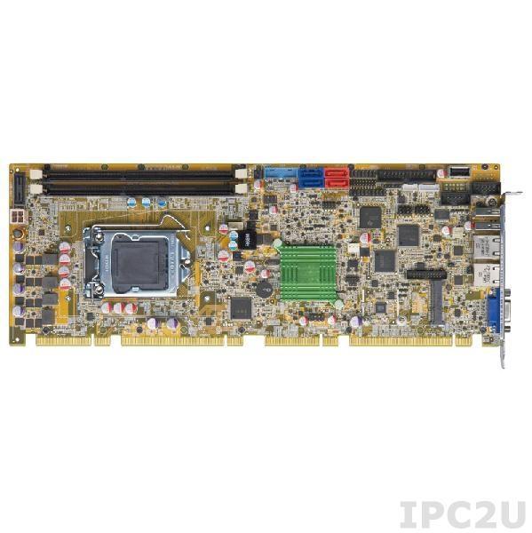 PCIE-H810-R10 Процессорная плата PICMG 1.3, процессоры Intel Core i7/i5/i3/Pentium/Celeron LGA1150, чипсет Intel H81, 2x240-pin DIMM DDR3/DDR3L, VGA, 2xLAN, 5xUSB 2.0, 2xUSB 3.0, 2xSATA II, 2xSATA III, LPT, DIO, TPM, iDP, SMBus, mSATA