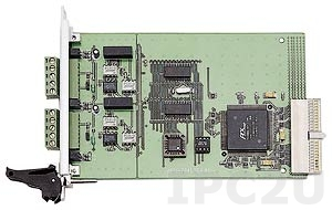 cPCI-7841 2-портовый CompactPCI адаптер интерфейса CAN