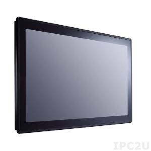 "GOT-3187W-881-PCT Безвентиляторный панельный компьютер 18.5"" WXGA, емкостный сенсорный экран, сокет LGA1150 (Intel Core TE), 1x 204-pin DDR3, 1x 2.5"" SATA HDD, 1x mSATA, 1xCFast, 2xCOM, 4xUSB, HDMI, 2xPCIe Mini, LAN, Аудио, питание 19В DC"